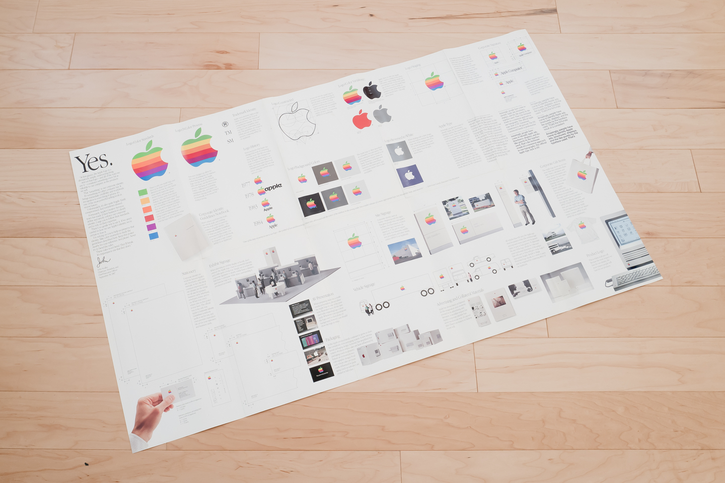 Rediscovering Apple\'s 1987 Identity Guidelines