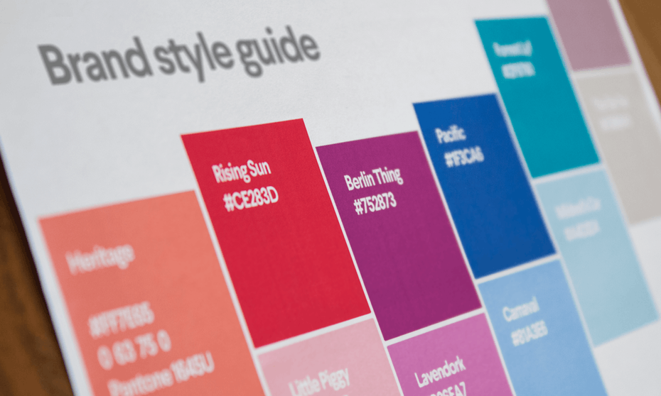 How to create a brand style guide