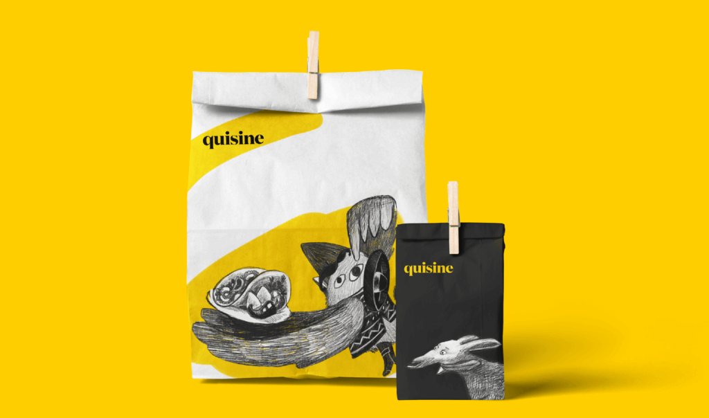 Case Study: Quisine. Branding Design for Food Delivery Service