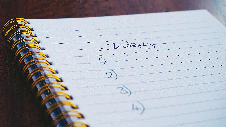 Список дел на день: начальная методика тайм-менеджмента