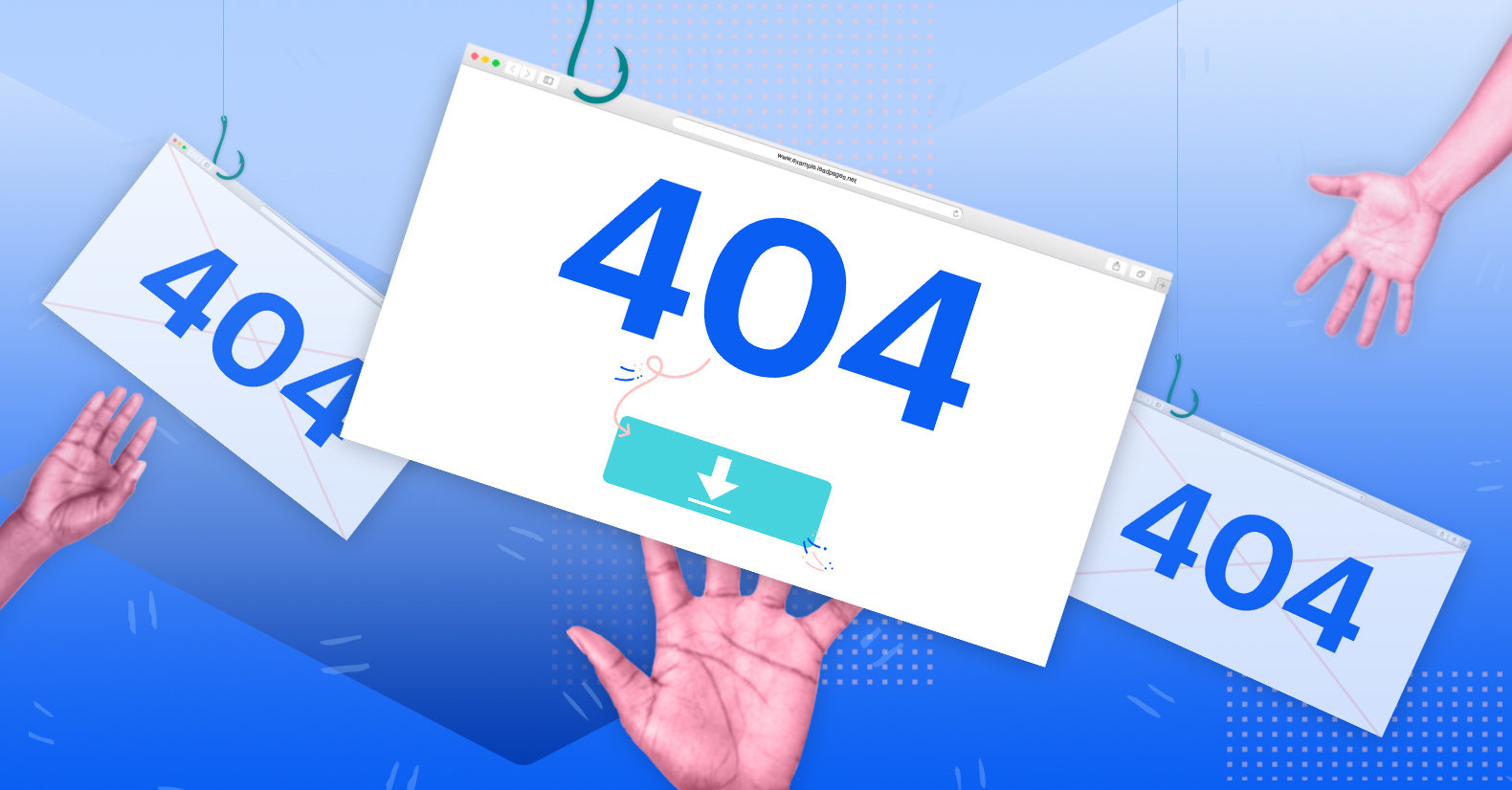 How to Use a 404 Page to Hook Visitors and Capture Leads