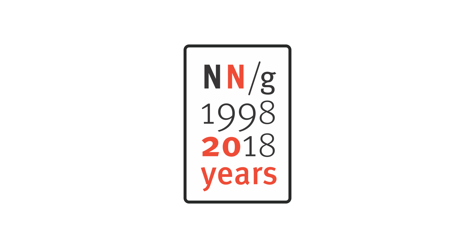 Nielsen Norman Group: 20 Years