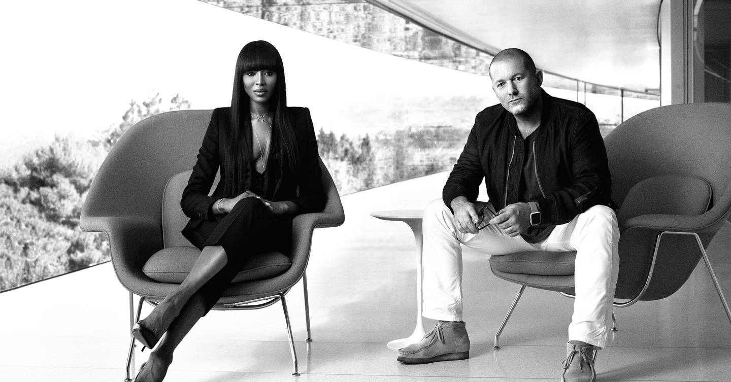 Quiet By Design: Naomi Campbell Interviews Jony Ive