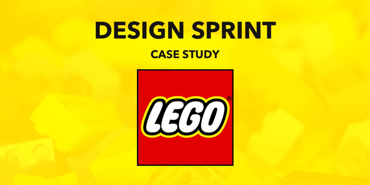 A case study about how LEGO scaled Design Sprints throughout its organisation