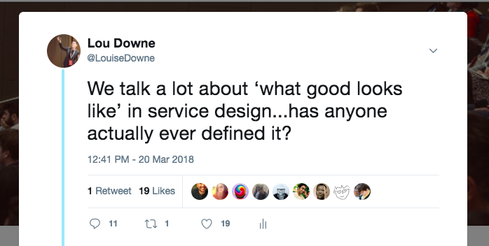 15 principles of good service design