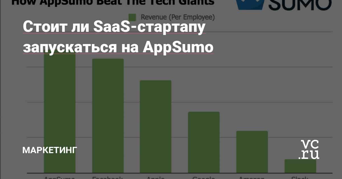 Стоит ли SaaS-стартапу запускаться на AppSumo