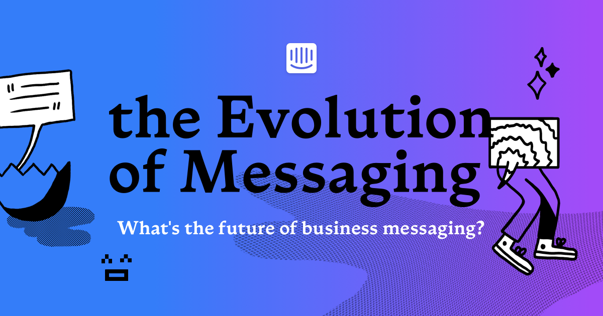 The History of Messaging by Intercom