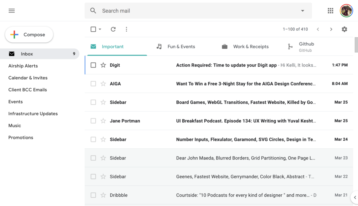 Inbox is dying. Gmail UX sucks. So I fixed it for my own sanity